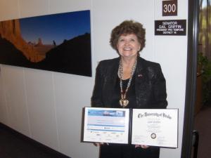 Sen. Griffin certificate 11-7-13